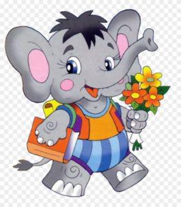 органайзер для заколок слоненок