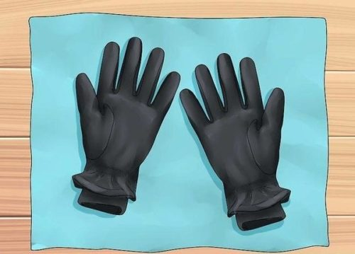 сушка кожаных перчаток