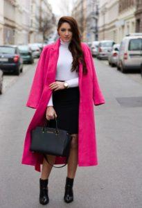 пальто нараспашку