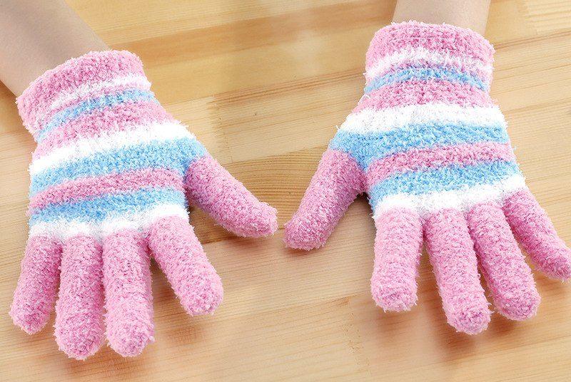 перчатки детские модель 1