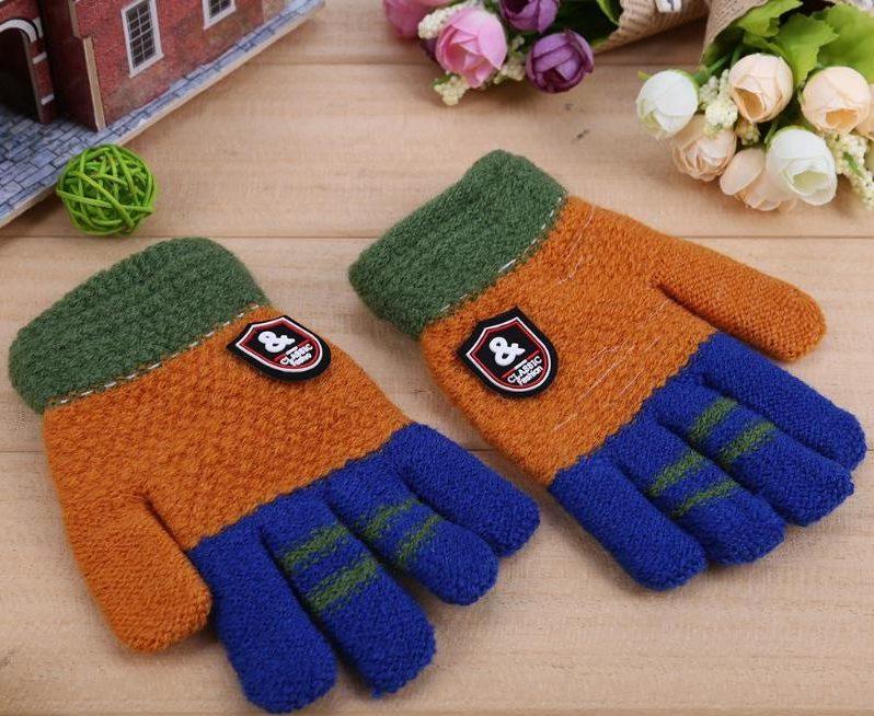 перчатки детские модель 2