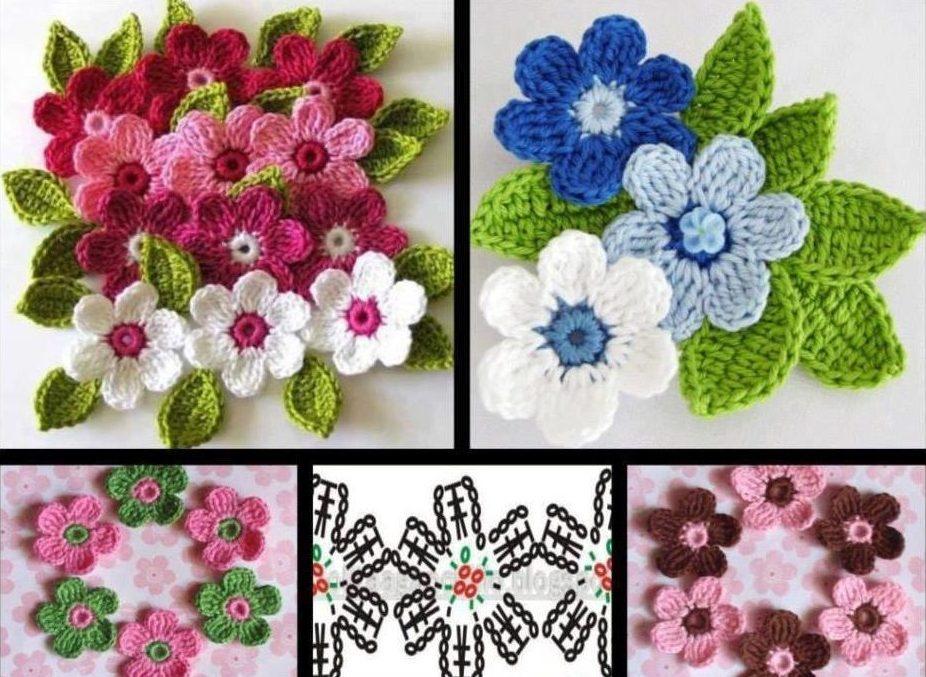 пинетки цветок 1