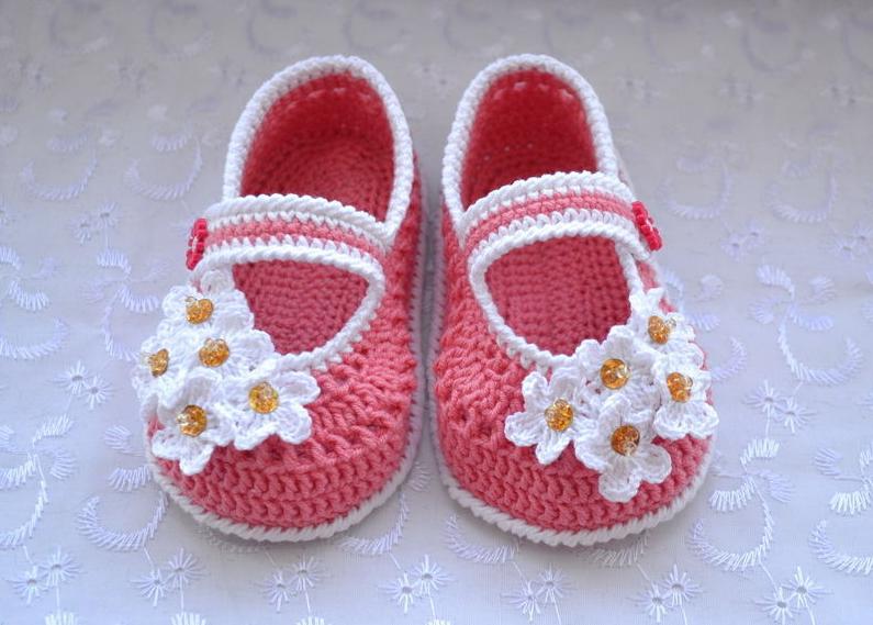 пинетки туфельки модель 1