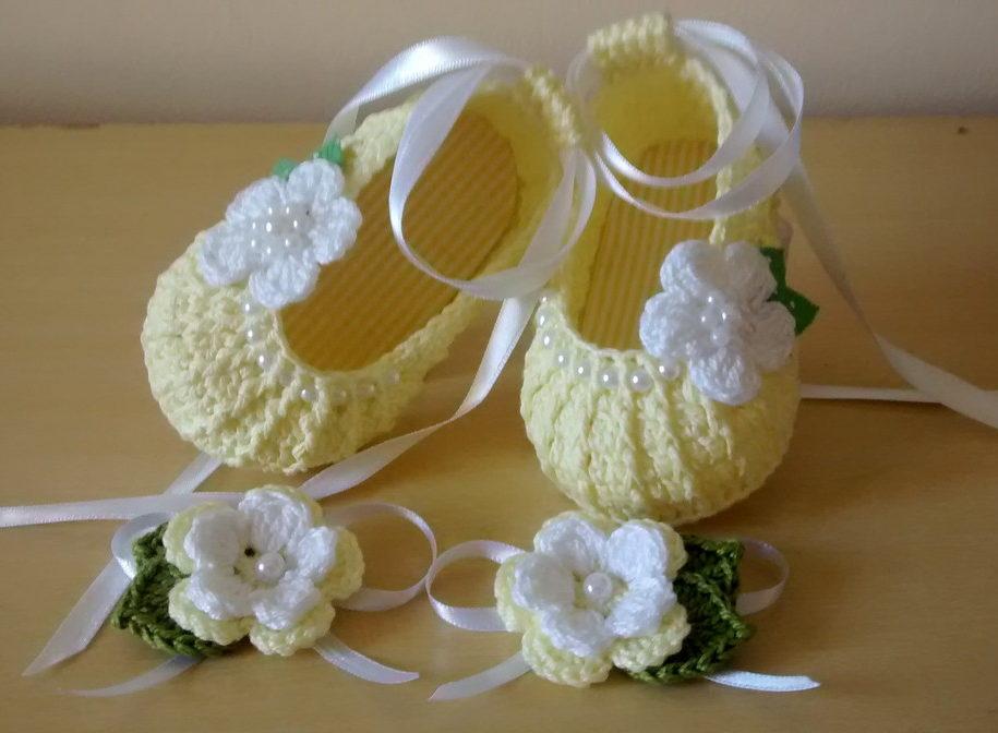 пинетки туфельки модель 2