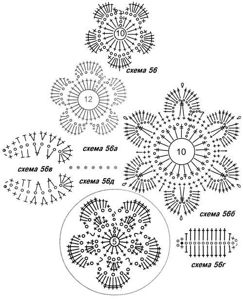 пинетки туфельки цветок 1