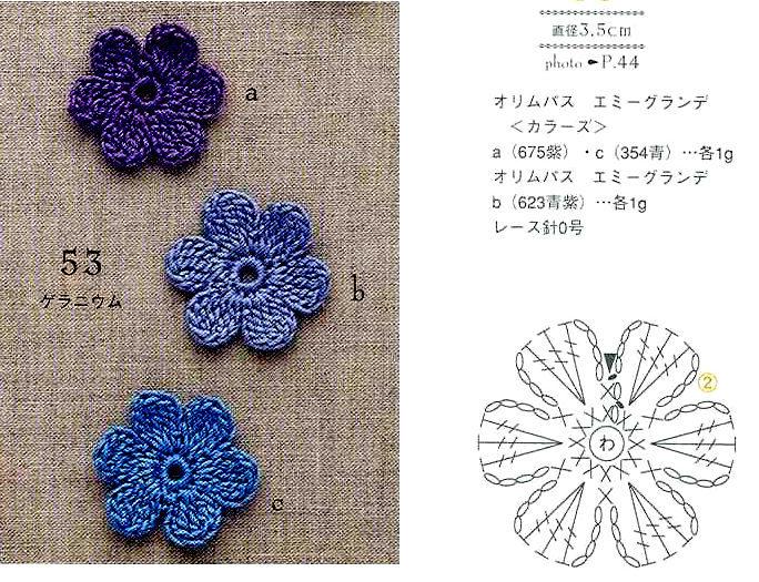 пинетки туфельки цветок 2