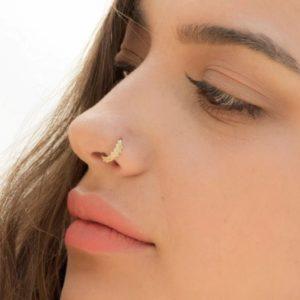 пирсинг носа 6