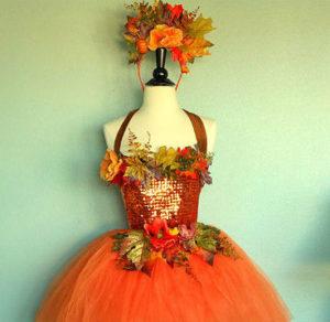 платье для образа осени