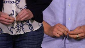 мужская и женская рубашки