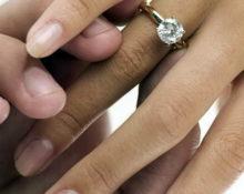 помолвочное кольцо какое должно быть