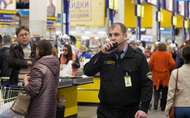 охрана супермаркета