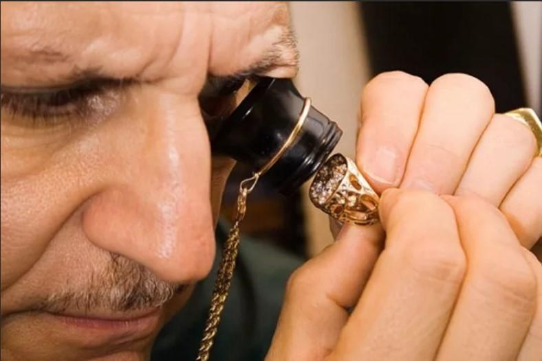 проверка золота ювелиром