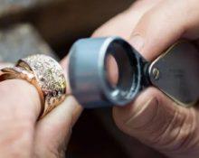 проверка золотго кольца ювелиром