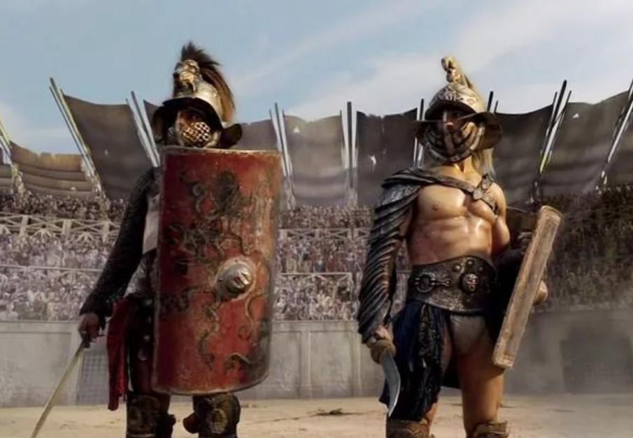 пряжки римские гладиаторы