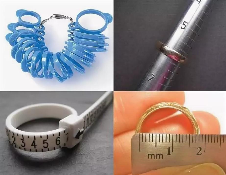 размер кольца как определить