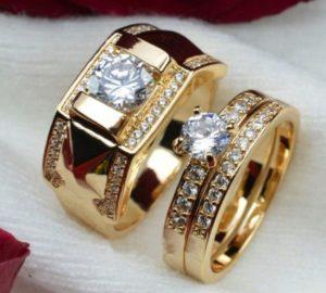 размер кольца золотые обручальные