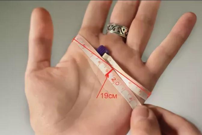 размер женских перчаток как измерить ладонь