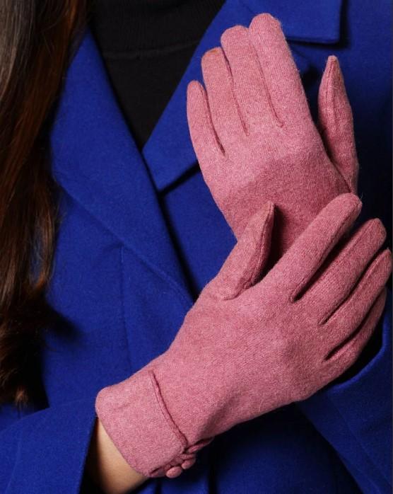 размер женских перчаток розовые рикотажные перчатки