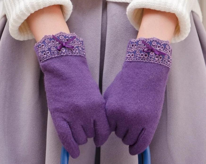 размер женских перчаток трикотажные перчатки