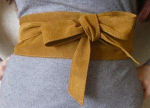 ремень как сшить из ткани