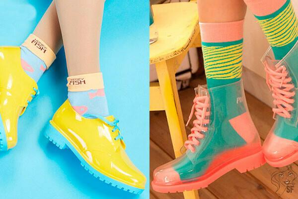 как ботинки
