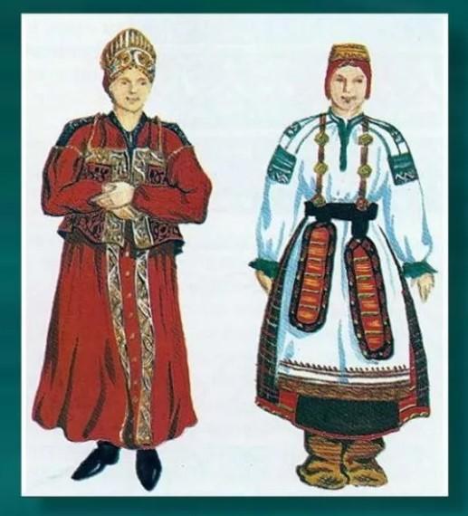русский национальный костюм 4