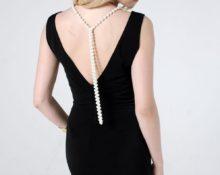 платье с открытой спиной выкройка