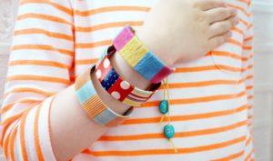 браслет своими руками из подручных материалов