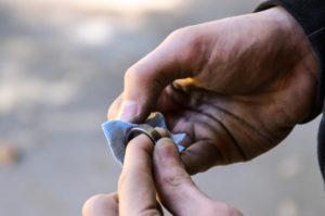 сделать кольцо из монеты своими руками