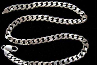 панцирное плетение серебро