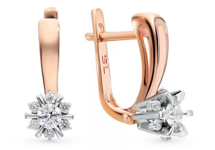 серьги с бриллиантами 1