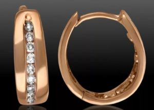 серьги с бриллиантами 15