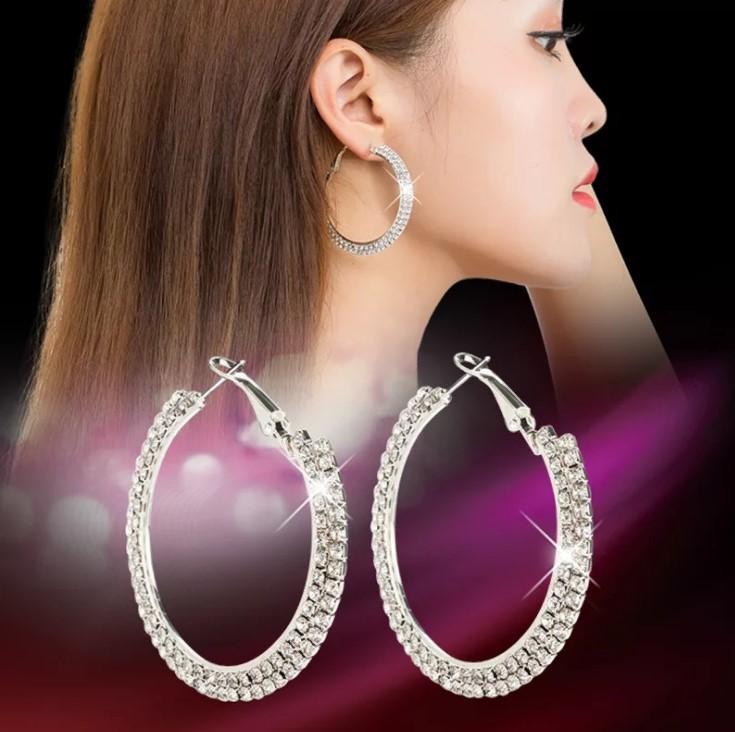 серьги с бриллиантами 16