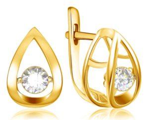 серьги с бриллиантами 2