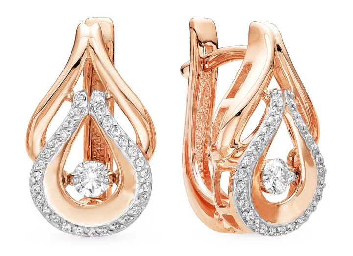 серьги с бриллиантами 3