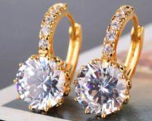 серьги с бриллиантами 5