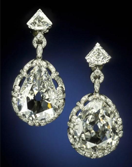 серьги с бриллиантами 8