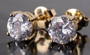 серьги с бриллиантами крупными 2