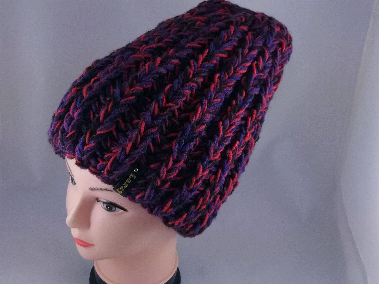 шапка крючком модель_1