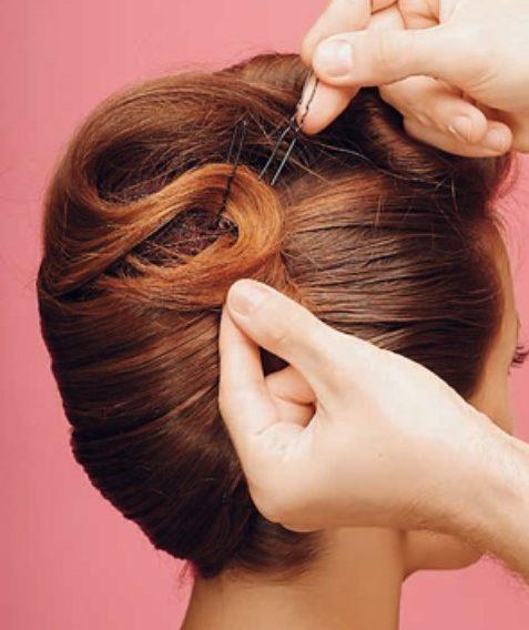 шпилька для волос заколоть прическу