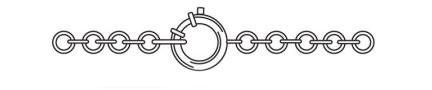 Виды застежек на цепочках