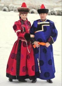 свадебные костюмы Сибири