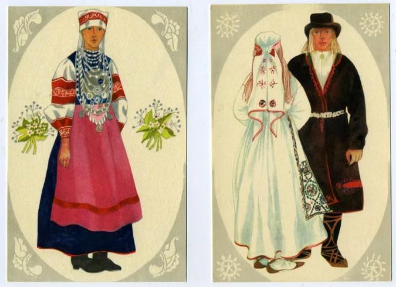свадебные костюмы ижорцы 5