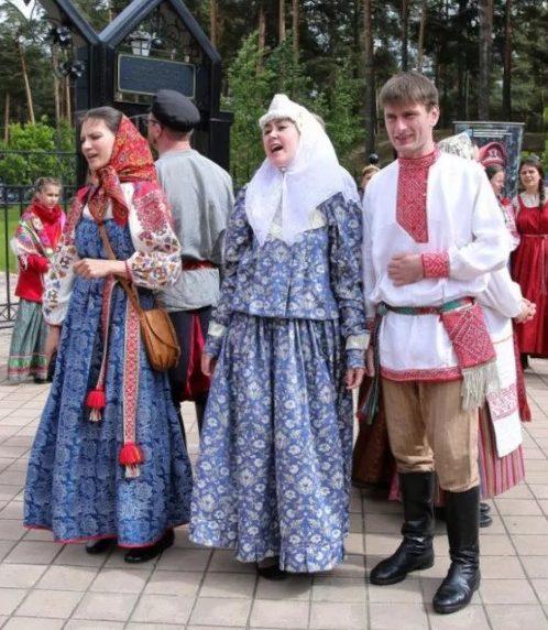 свадебные костюмы народов Ленинградской области