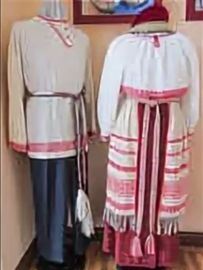 свадебные костюмы вепсы 4