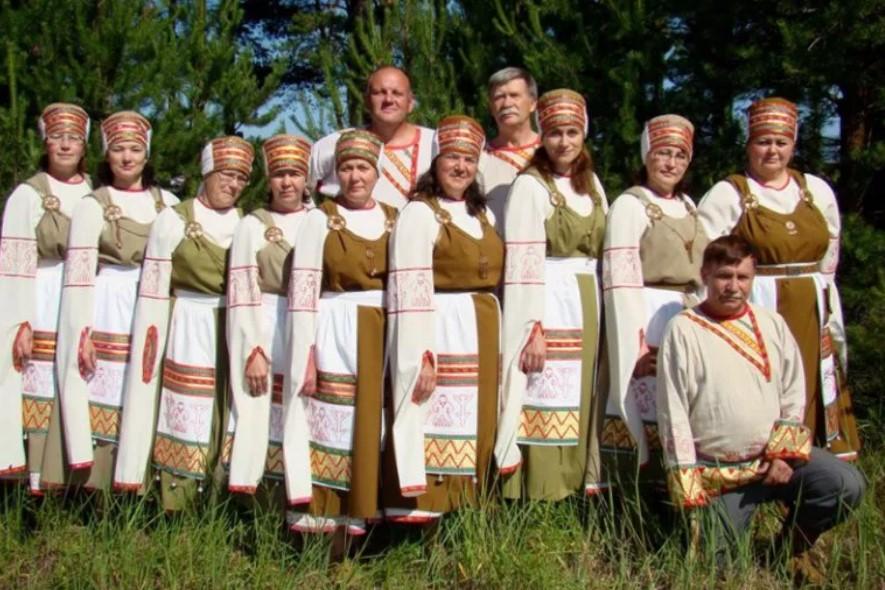 свадебные костюмы вепсы Карелии