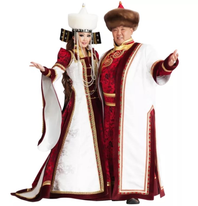 свадебный костюм буряты 3