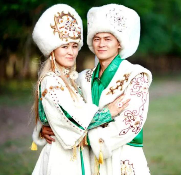 свадебный костюм хакасы 1