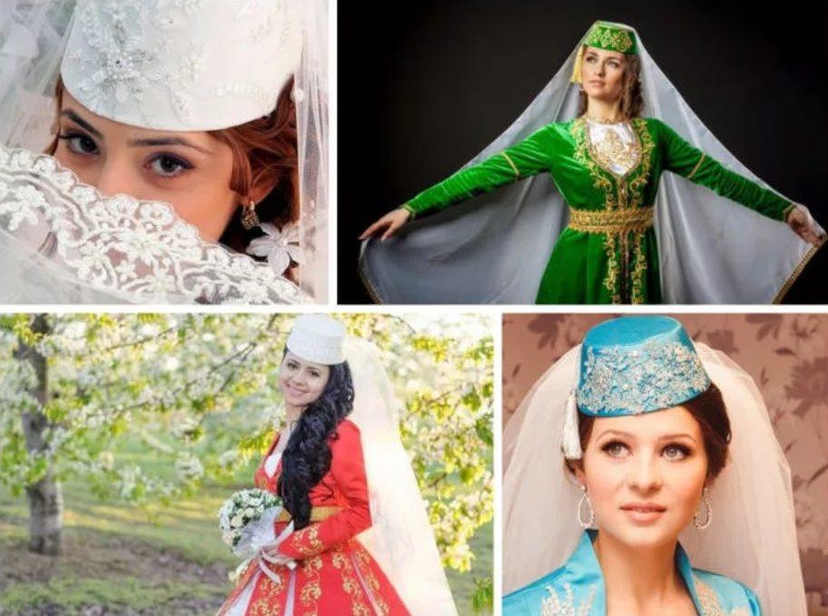 татарская свадьба наряд невесты