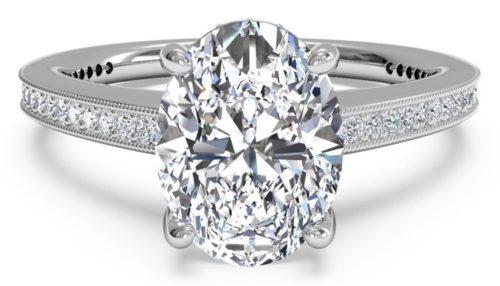 Diamond Cut Oval